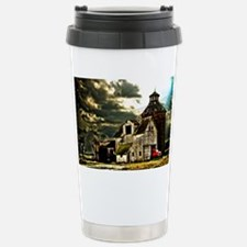 Stormy Old Barn and Silo Travel Mug