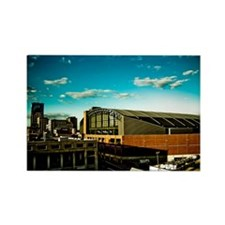 Conseco Fieldhouse Rectangle Magnet