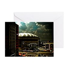 RCA Dome Indianapolis Indiana Greeting Card