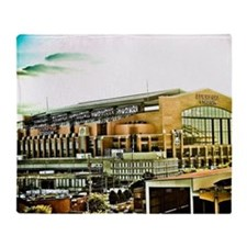 Lucas Oil Stadium Indianapolis India Throw Blanket