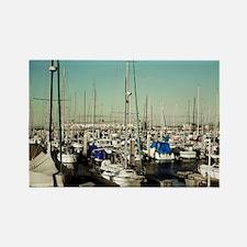 Monterey Bay Marina Rectangle Magnet