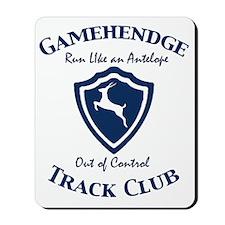 gamehendge-track-clubb Mousepad
