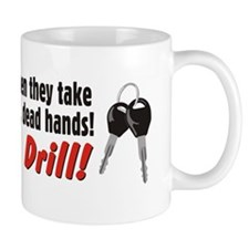 Cold Dead SUV (10x3 Wt Key) Mug