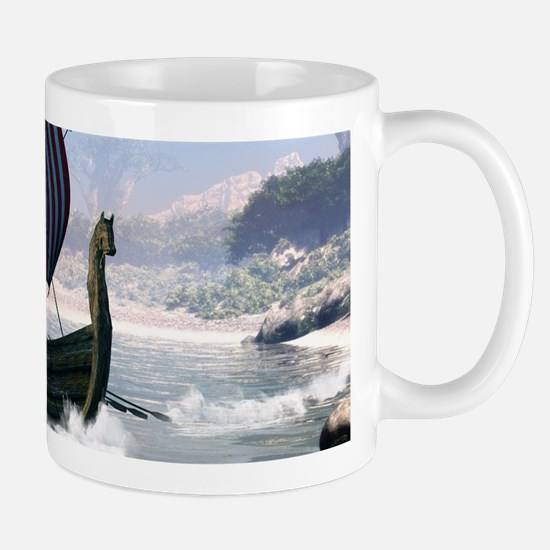 Wonderful longboat, vikking ship Mugs