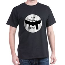 4th dan black belt 2010 T-Shirt