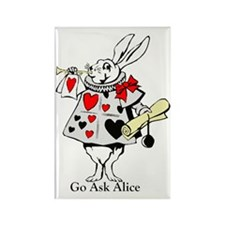 Alice Rectangle Magnet