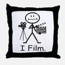 Filmmaker Throw Pillow