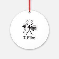 Filmmaker Ornament (Round)