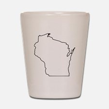 wisconsin Shot Glass