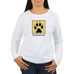 Hyena Cart Women's Long Sleeve T-Shirt