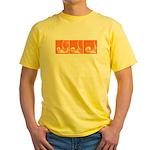 Orange Thrust Yellow T-Shirt
