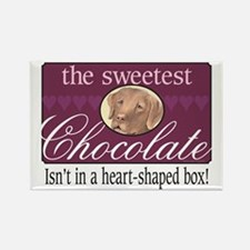 The sweetest chocolate! Rectangle Magnet