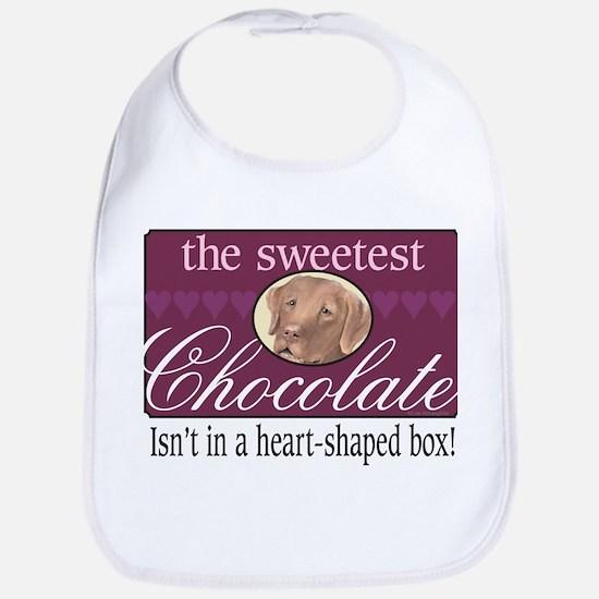 The sweetest chocolate! Bib