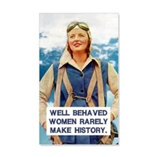 Well Behaved Women Wall Decal