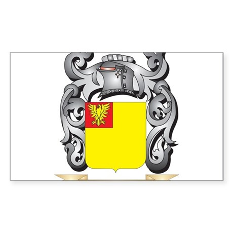 Jankoff Coat of Arms - Family Crest Sticker