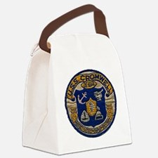 cromwell patch transparent Canvas Lunch Bag