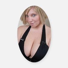 Nicole Tyler merch Oval Car Magnet