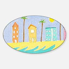 Beach Houses mug Decal