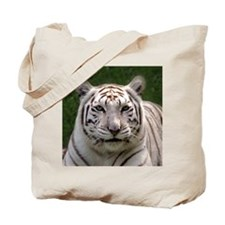 White Tiger 006 Tote Bag