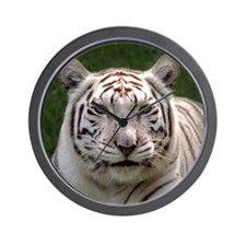 White Tiger 006 Wall Clock
