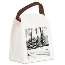 Winter Sentinels Note Cards Canvas Lunch Bag