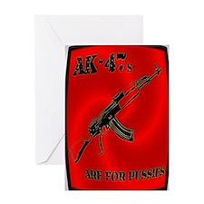 AK-47 Greeting Card