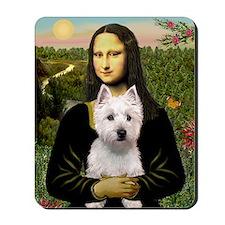 Mona's Westie (P) Mousepad