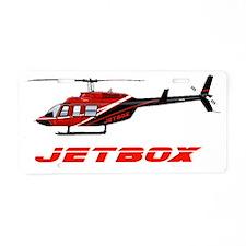 JetBox Badge 2 Aluminum License Plate