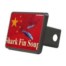 shark fin soup tee shirt 1 Hitch Cover