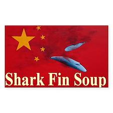 shark fin soup tee shirt 1 Decal