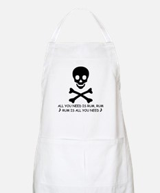 ALL YOU NEED IS RUM BBQ Apron