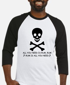 ALL YOU NEED IS RUM Baseball Jersey