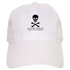 ALL YOU NEED IS RUM Baseball Cap