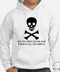 ALL YOU NEED IS RUM Hoodie