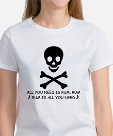 ALL YOU NEED IS RUM Tee