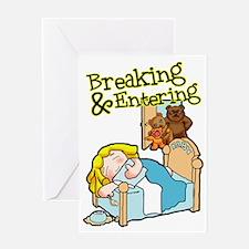 Goldi Greeting Card