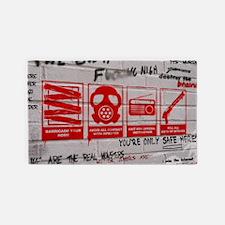 zombie apocalypse poster 3'x5' Area Rug