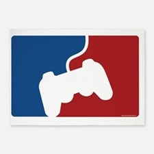 pro gamer poster 5'x7'Area Rug