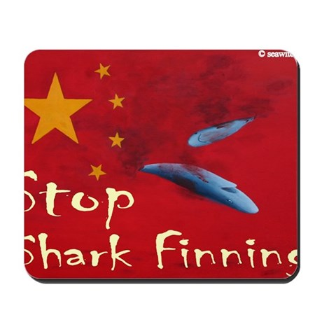 shark-finning-t-shirt2 Mousepad