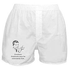Caution contents-1 Boxer Shorts