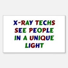 X-Ray Tech Rectangle Decal