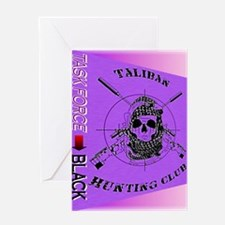TASK FORCE-BlackSAS Greeting Card