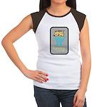 Spots the Hyena Women's Cap Sleeve T-Shirt