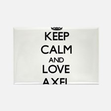 Keep Calm and Love Axel Magnets
