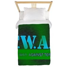 THE TWAT...WAR AGAINST TERROR Twin Duvet