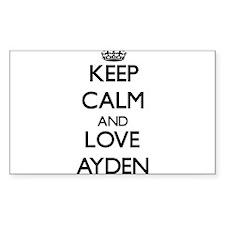 Keep Calm and Love Ayden Decal