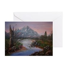 """Mountain Sunrise"" Greeting Cards (Pk of 10)"