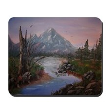 """""""Mountain Sunrise"""" Mousepad"""