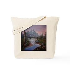 """""""Mountain Sunrise"""" Tote Bag"""