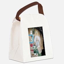 Self Portrait Canvas Lunch Bag